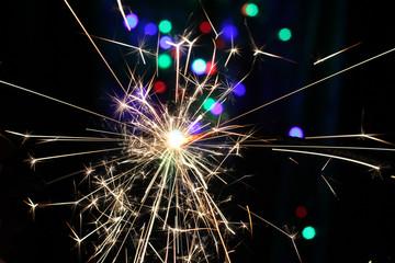 sparkler pyrotechnics