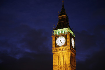 Wall Mural - Big Ben at Night