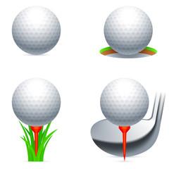 Golf icons.
