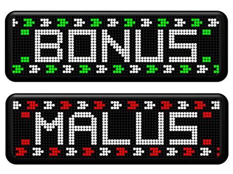 PANNEAUX A LEDS BONUS ET MALUS
