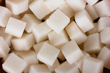 refined sugar background