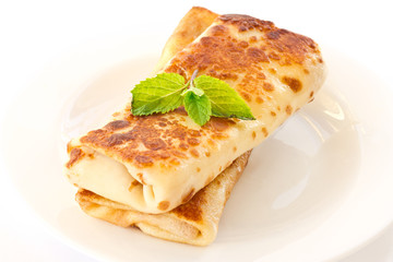 Pancakes stuffed with