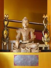 sitting myanmar buddha