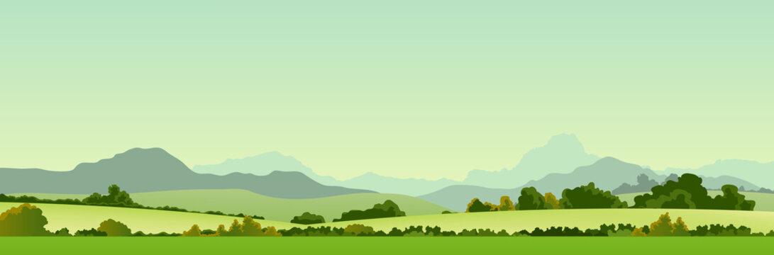 Summer Season Country Banner