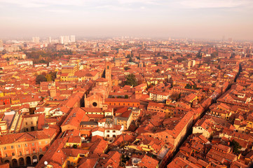 Roofs of Bologna: View from the Tower