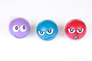Gesichter Stressbälle