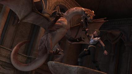 Papiers peints Dragons Dragon slayer