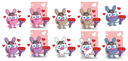 Romantic Bunny Collection