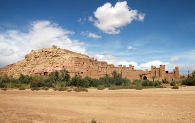 Foto op Canvas Marokko Ait Benhaddou - Marocco