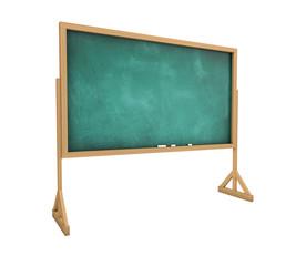 Old messy blank blackboard