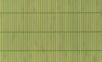 Bambusmatte Hintergrund - grün