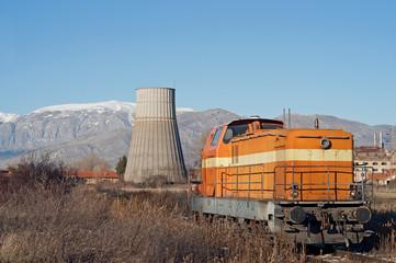 vecchia locomotiva