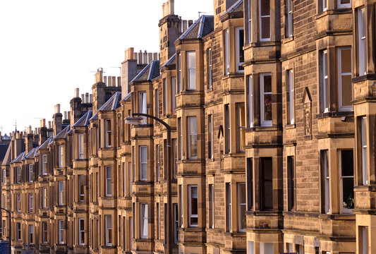 Victorian flats, residential housing in the UK
