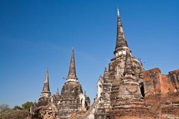 Three Pagodas,