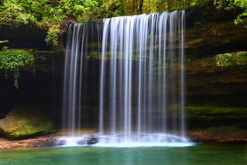 Upper Caney Creek Falls