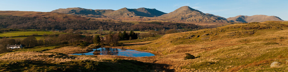 Coniston Fells Panorama