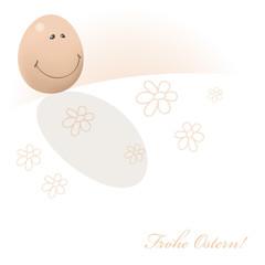 Frohe Ostern Ei DE