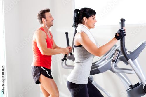 Занятия в тренажерном зале: 1 Похудение