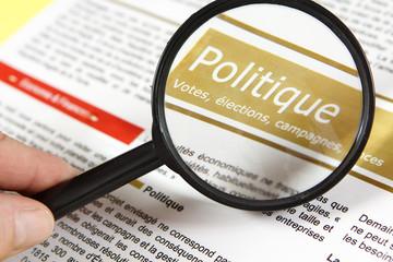 Politique, titre de journal