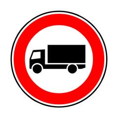 Papier Peint - Verkehrsschild - 253 Verbot für Fahrzeuge über 3,5t