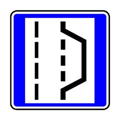 Papier Peint - Verkehrsschild - 328 Nothalte- und Pannenbucht