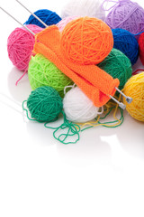 Color clews for knitting