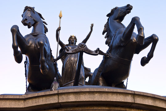 Boadicea Statue in Westminster London