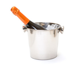 photo of Champagne and ice bucket