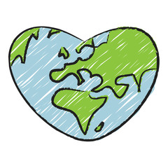 Earth, heart