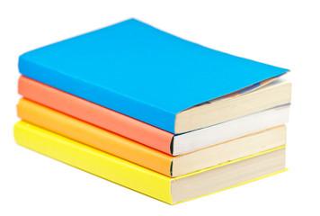 Pile of multicolored books