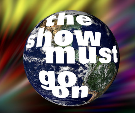 Mutter Planet Erde - show must go on
