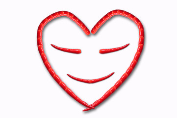 Smile heart by chili