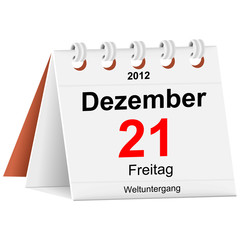 Kalender - 21.12.2012 - Weltuntergang