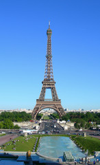 Landmark image of Eiffel Tower in Paris, France