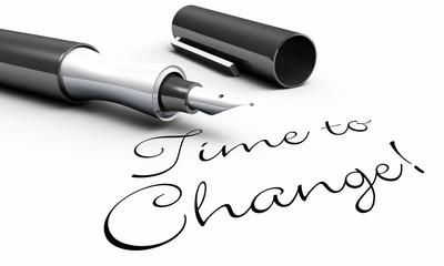 Time to Change! - Stift Konzept
