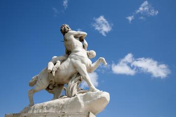Paris - Centaur carrying off a nymph  Tuileries Garden