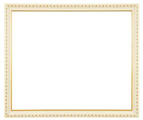 white gold frame