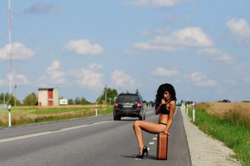 Sexy Traveler In Bikini