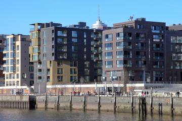 Wohn- und Bürogebäude in der Hafencity, Hamburg