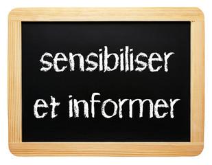 sensibiliser et informer