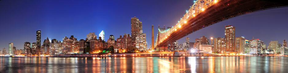 Fotomurales - Queensboro Bridge and Manhattan