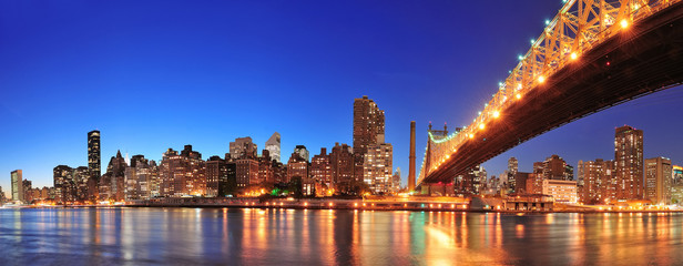 Wall Mural - Queensboro Bridge and Manhattan