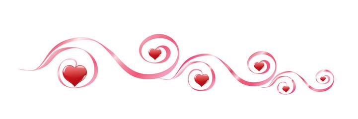 Decor from hearts