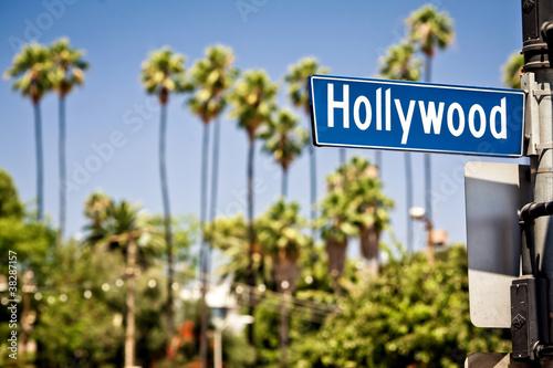 Fototapete Hollywood sign in LA