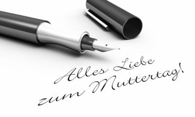 Alles Liebe zum Muttertag - Stift Konzept