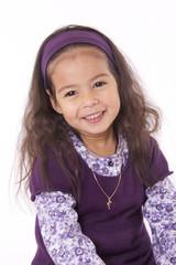 enfant souriante