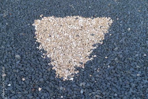 Steine im vorgarten stockfotos und lizenzfreie bilder for Steine im vorgarten