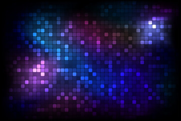 Dark mosaic background - vector illustration