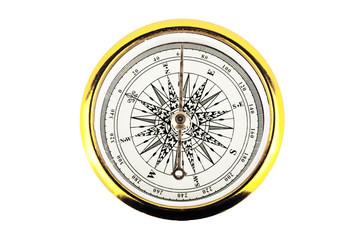 Closeup compass
