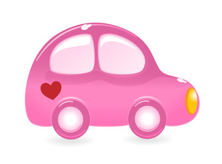 The Valentine's car